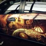3D autofolie-reklamní celopolep