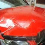 3D ochranná transparentní autofolie