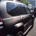 3D autofolie-černý karbon