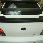 3D autofolie-bílý karbon