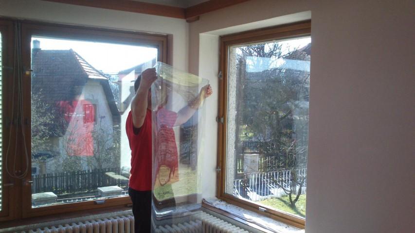 Bezpečnostní folie na okna ceník
