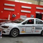 Kompletní polep závodního speciálu Mitsubishi EVO