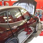 Aplikace ochranné transparentní autofolie na BMW X1