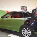 Celopolep Audi A5 - zelená matná army