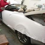 Celopolep bílou 3D autofolií na Lexus