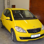 Celopolep Mercedes-Benz žlutá lesklá folie