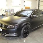 Černá matná folie Volkswagen