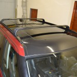 Černá metalická folie na Range Rover