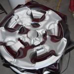 Aplikace chromové folie na disky litých ALU kol