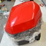 3D ochranné folie PVC na kufry k motorce