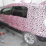 Ford Fusion fólie s vlastním motivem – od návrhu po lepení do hotového polepu