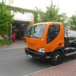 Celopolep Avie oranžovou autofólií pro Pražské služby