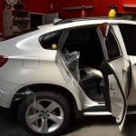 Ochranná fólie + rychlé pruhy + tónování autoskel