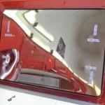 Stříbrná reflexní folie na plastové střešní okno karavanu