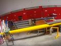 Celopolep 3D žlutou folií na závodní skif
