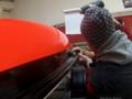 3D fluorescentní folie na spodní část okruhové plachetnice