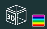 Barevné 3D fólie na předměty