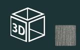 3D fólie s imitací broušeného hliníku a kovů