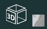 3D fólie na předměty s imitací chromu