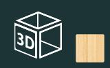 3D fólie s imitací dřeva, kamene a kůže na předměty
