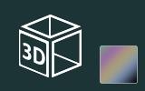 3D fólie matné barvy na předměty