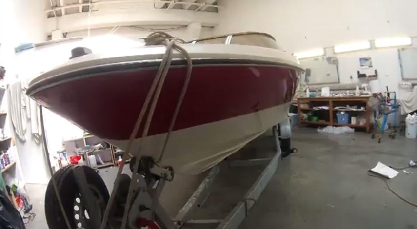 Renovace spodní části lodě pomocí 3D folie
