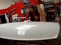 Celopolep závodní plachetnice K1 ochrannou transparentní folií